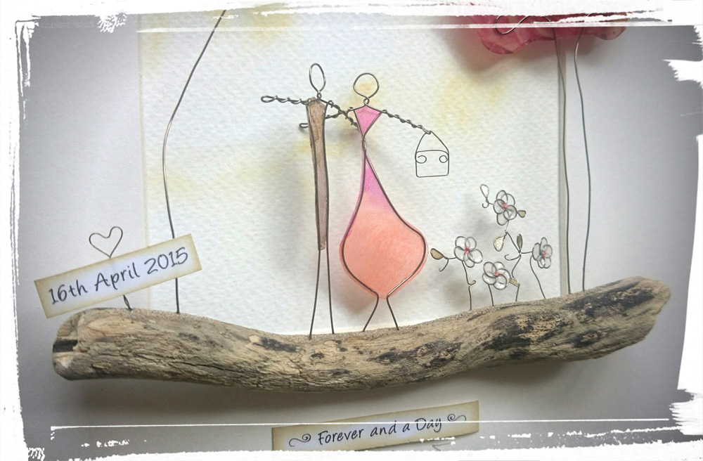 The Stone Art Gallery: Wire Sculpyural Pictures