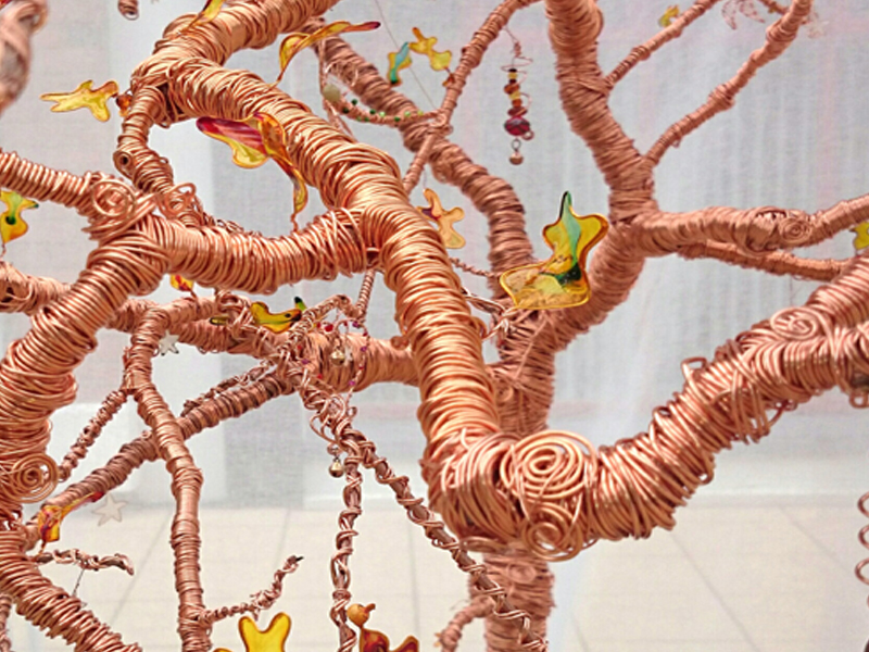 The Stone Art Gallery: The Copper Tree