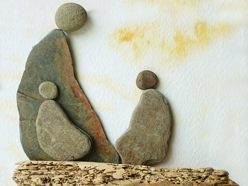 Easy Rock painting ll stone art ll how to decor ur garden ... |Stone Artwork